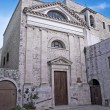 St. John the Baptist Church. Giovinazzo. Apulia. - Stock Photo