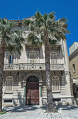 Historical Palace. Bari. Apulia. — Photo