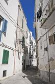 Alleyway. Monopoli. Apulia. — Stock Photo
