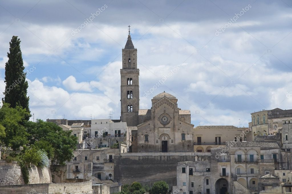 Sassi of Matera. Basilicata. — Stock Photo #3555967