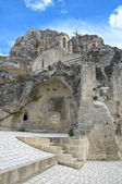 Madonna de Idris Rock-church. Sassi of Matera. Basilicata. — Stock Photo