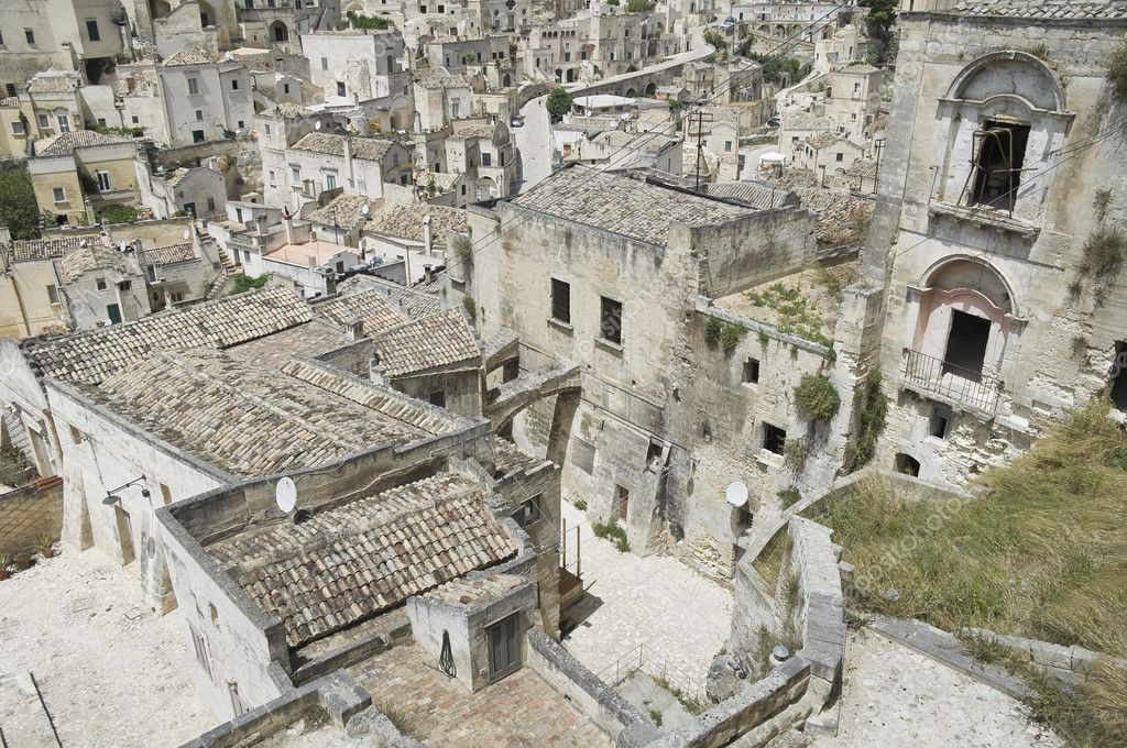 Sassi of Matera. Basilicata. — Stock Photo #3565482