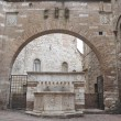 Royalty-Free Stock Photo: Historical fountain. Perugia. Umbria.