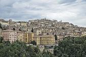 Panoramisch zicht van perugia. umbrië. — Stockfoto