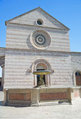 Basilica of St. Chiara. Assisi. Umbria. — Stock Photo