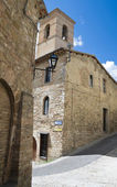 St. Bartolomeo Church. Montefalco. Umbria. — Stock Photo