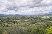 Panoramic view of Montefalco. Umbria. — Foto Stock