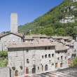 Royalty-Free Stock Photo: Panoramic view of Gubbio. Umbria.