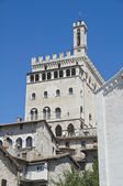 Consul Palace. Gubbio. Umbria. — Stock Photo