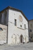 St. Pietro Church. Gubbio. Umbria. — Stock Photo