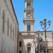 Civic Tower Clock. Altamura. Apulia. — Stock Photo