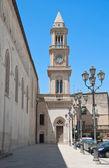 Civic πύργο του ρολογιού. altamura. απουλία. — Φωτογραφία Αρχείου
