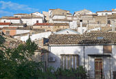 Panoramic view of Bovino. Apulia. Italy. — Stockfoto