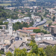 Royalty-Free Stock Photo: Panoramic view of Spoleto. Umbria.