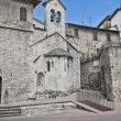 SS. Stefano e Valentino Church. Perugia. Umbria. - Stock Photo