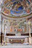 Cathedral Interior. Spoleto. Umbria. — Foto Stock