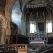 St. Pietro Basilica Interior. Perugia. Umbria. - Stock Photo