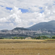 Panoramic view of Assisi. Umbria. — Stock Photo