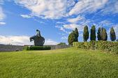 St. Francesco Knight. Assisi. Umbria. — Stock Photo