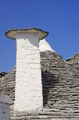 Close up of a Trullo Chimney-pot. Alberobello. Apulia. — Stock Photo