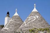 Trulli. Alberobello. Apulia. — Stock Photo