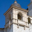 Royalty-Free Stock Photo: St. Francesco Basilica. Belltower. Assisi. Umbria.