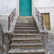 Typical house. Bovino. Foggia. Apulia. - Stock Photo