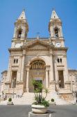 Basilica di ss. cosma e damiano. alberobello. puglia. — Foto Stock