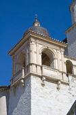 St. Francesco Basilica. Belltower. Assisi. Umbria. — Stock Photo
