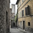 Alleyway. Perugia. Umbria. — Stock Photo #3722228