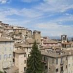 Panoramic view of Perugia. Umbria. — Stock Photo