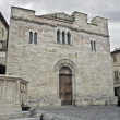 St. Silvestro Church. Bevagna. Umbria. — Stock Photo