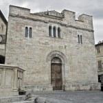 St. Silvestro Church. Bevagna. Umbria. — Stock Photo #3722632