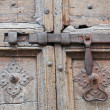 Antique door latch. — Stock Photo