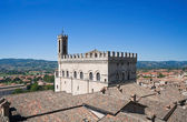 Consuls Palace. Gubbio. Umbria. — Stock Photo