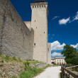 Albornoz fortress. Spoleto. Umbria. - Photo