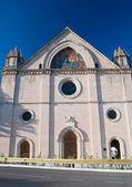 Sanctuary of Saint Maria in Rivotorto. Umbria. — Stock Photo