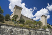 Albornoz fortress. Spoleto. Umbria. — Stock Photo