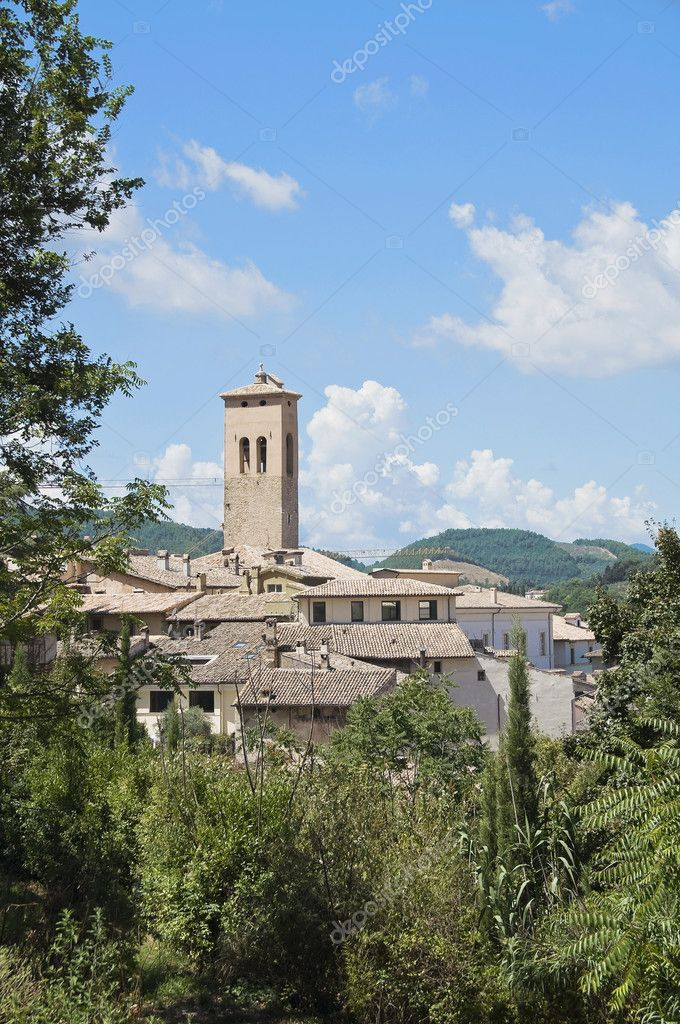 View of Spoleto. Umbria. — Stock Photo #3744901