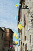 Historic palace. Corciano. Umbria. — Stock fotografie