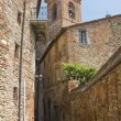 Alleyway. Panicale. Umbria. — Stock Photo