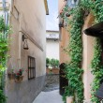 Alleyway. Bevagna. Umbria. — Stock Photo