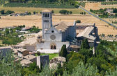 St. Francesco Basilica. Assisi. Umbria. — Stock Photo