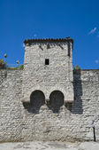 Ancient walls. Gubbio. Umbria. — Stock Photo