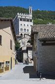 Consuls Palace. Gubbio. Umbria. — Stock fotografie