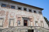 Corgna Palace. Castiglione del Lago. Umbria. — Stock Photo