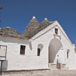 Sovereign Trullo. Alberobello. Apulia. — Stock Photo