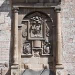 Historic fountain. Spello. Umbria. — Stock Photo #3816485