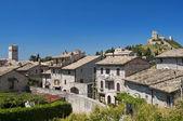 Panoramic view of Assisi. Umbria. — Stock Photo