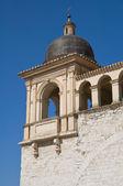 St. Francesco Belltower Basilica. Assisi. Umbria. — Stock Photo